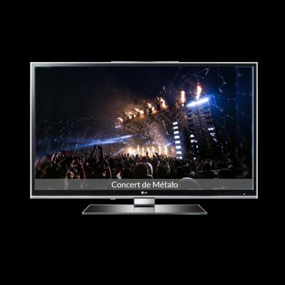 grand-écran-diaporama-d.diapowall.com-image-gros-concert-intitulé-Concert-de-Métalo